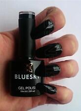 Bluesky AW06 SQUID INK Black UV LED Soak Off Gel Nail Polish 10ml Free Postage