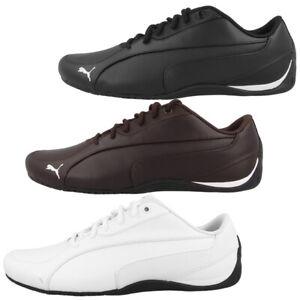 Puma Drift Cat 5 Core Schuhe Herren Leder Freizeit Sneaker Turnschuhe 362416