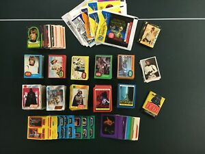 All original 1977-1983 Topps Star Wars cards + stickers + more