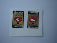COLUMBUS CONCORDE FORK  DECALS / STICKERS (PAIR)