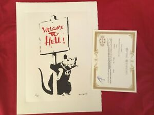 Banksy -Welcome to Hell
