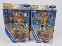 WWE Triple H Shawn Michaels Lot Wrestlemania Elite Action figure Mattel