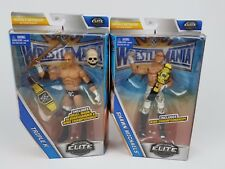 WWE Triple H Shawn Michaels Lot Wrestlemania Elite Action figure Mattel