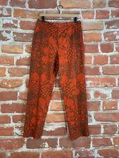 Vintage Rare ETRO Milano Paisley Aztec Print Runway Designer Label 30 x 30 Pants