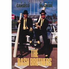 "NEW IN ORIGINAL TUBE W/ LABEL ""BASH BROTHERS"" McGWIRE COSTACOS 1988 POSTER"