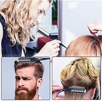 2 Pcs Multifunction Hair Style Comb Instant Styling Sharks Back Combing Brush