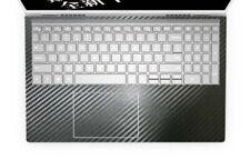 2-pack Black Carbon fiber Palmrest Vinyl Sticker for Dell Inspiron 15-7000 serie
