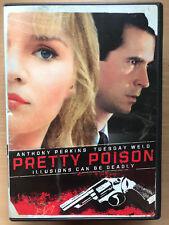 ANTHONY PERKINS PRETTY POISON 1968 CULTO Acción Clásica RARO US Región 1 DVD
