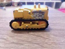 Vintage IH International TD-25 Crawler Dozer Toy Tractor  Yellow ERTL 1/16