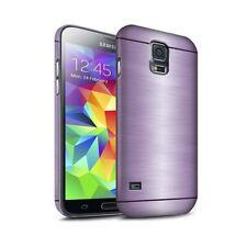 Housses et coques anti-chocs argentés Samsung Galaxy S5 pour téléphone mobile et assistant personnel (PDA)