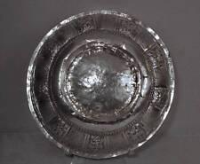 Large Antique Malaysian Islamic Malay Solid Silver Bowl 19th Century Malaysia