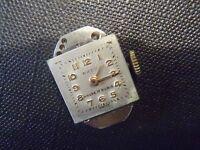 Vintage Movimento Da Orologio Meccanico Svizzera BADU LOYAL Ancora 17 Rubino