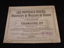 Partition Les nouveaux succès trombone ut