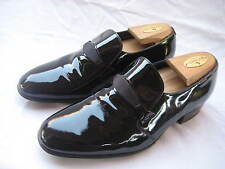 FLORSHEIM DESIGNER COLL BLACK PATENT LEATHER MEN'S TUXEDO DRESS SHOES SIZE 7.5 E