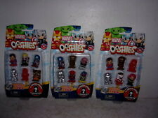 Ooshies Pencil Toppers - Marvel Series 1 Action Figures - Group of (3) 7-Packs