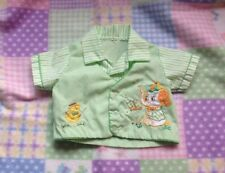 Vintage Infant Baby Boy Shirt- Doll Clothes