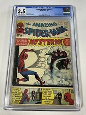 Amazing Spider-Man 13 CGC 3.5 1st Appearance App Of Mysterio Sinister Six Movie