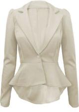 Cappotti e giacche da donna grigio formale con bottone