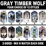 DOG TAG NECKLACE - Gray Timber Wolf #SN1 Wolves American Spiritual Native