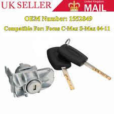 Front Door Lock Cylinder Repair Kit & 2 Keys For Ford Focus S-Max C-Max 1552849
