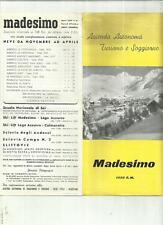 RARA GUIDA D' EPOCA MADESIMO SONDRIO