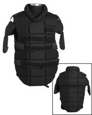 Mil-Tec Anti Riot Brustschütz Schwarz Brustpanzer Schutzweste Security Polizei