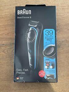 Braun BT3240 Mens Beard Trimmer, Hair Clipper & Fusion Razor, 39 Length Settings