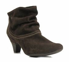 Pikolinos Women's Turin stitching ankle bootie Suede Brown US 7.5 NOB
