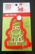 Sweet Creations by Good Cook 3D Sitting Santa Cookie Cutter - New