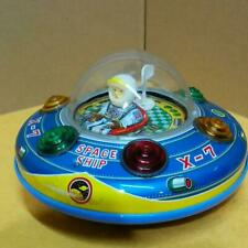 Spaceship X-7 Tinplate 1970s made japan toys