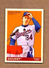 2009 Upper Deck Goudey #208 Nolan Ryan SP