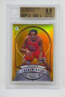 2007-08 Bowman Sterling Gold Refractors Joakim Noah/99 Rookie 🔥Beckett 9.5 GEM