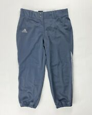 Adidas Softball Knee High Game Pocket Pant Women's Medium Gray 9558W