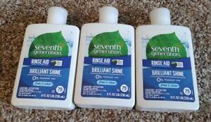 Seventh Generation Rinse Aid 8 oz. 3 Pack Brilliant Shine Bin 6