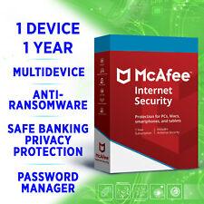 McAfee Internet Security 2021 1 Gerät 1 Jahr Multidevice