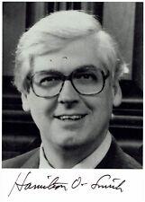 Hamilton Othanel Smith - signiertes Foto - Nobelpreis Medizin 1978