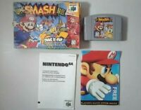 Super Smash Bros. (Nintendo 64, 1999) with box and inserts