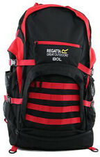 Regatta 80L Padded Travel Backpack Red 80 Litre Large Outdoor Camping Rucksack