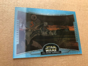 Topps Star Wars Clone Wars 2004 Battle Motion Card, B7,