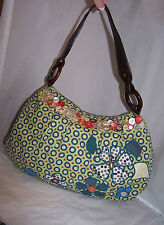 "FOSSIL Multi-Colored HIPPY Chic HOBO Shoulder bag Handbag~""BUY IT NOW""~FREE SHIP"