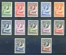 Bechuanaland 1955 Definitives complete to 10sh n.h. mint (2019/04/01#10)