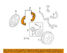 TOYOTA OEM 00-05 Celica Brake-Shoe 0449547010