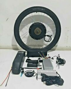 "48V 1500w electric bike kit complete with 13 OR 17AH Battery 26"", 27.5""  wheel"