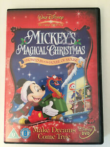 Mickey's Magical Christmas - Snowed In At The House Of Mouse DVD Good         JP