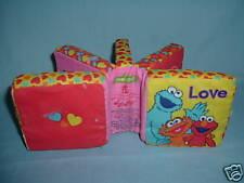 Sesame Street Cloth Book Soft Play 2004 has rattle