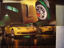 2006 Corvette Z06 Introductory Auto Show Color Folder Poster