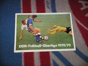 DDR Oberliga - Fußball Oberliga Mannschaftsposter Saison 1978/79 jetzt zugreifen