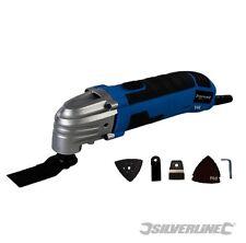 Función de herramienta de múltiples SILVERLINE 300 W Oscilante Lijadora Amoladora Cortador Raspador