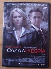 DVD,Caza a la Espia.Naomi watts,Sean Penn