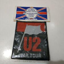Vintage    U2     Unused  80s PATCH      war tour